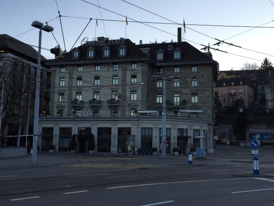 Hotel outlook - Picture of Central Plaza Hotel, Zurich ...