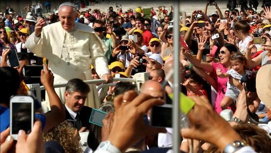 Fraterna Domus: le pape grâce à l'invitation à l'audience du mercredi