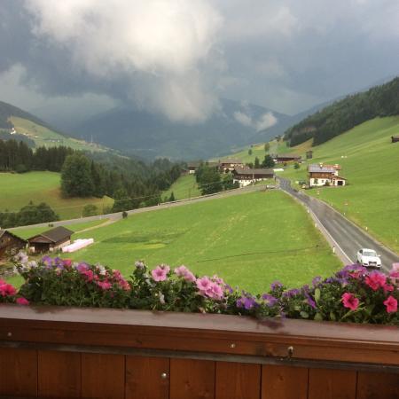 Aparthotel Garni Monte: Vista dal balcone