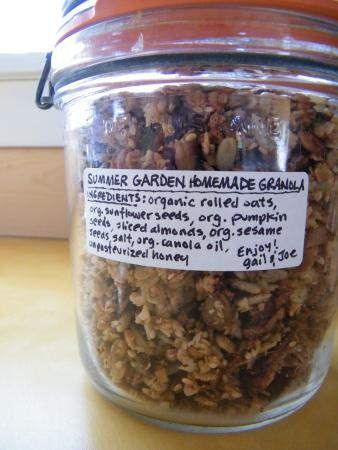 Argyle Shore, Canada: Hide this away on your arrival and keep it to yourself! Best granola I've had...