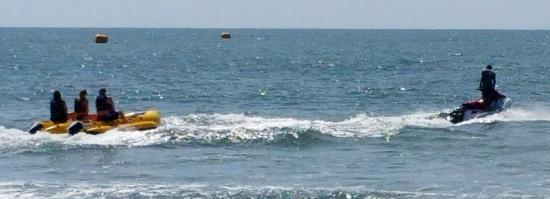 Ocean Watersports: Banana boat ride to parasail boat
