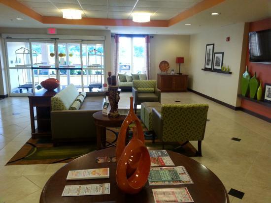 Comfort Inn Marion: Lobby