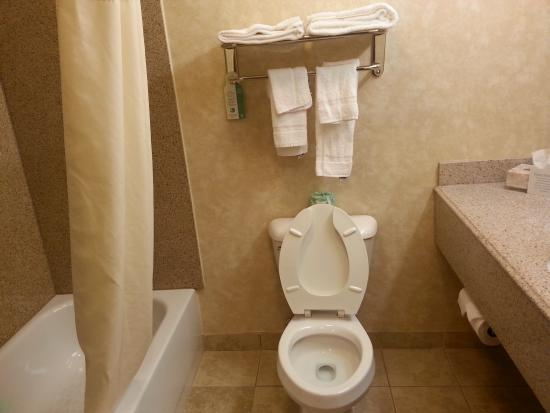 Bathroom Picture Of Comfort Inn Marion Marion TripAdvisor