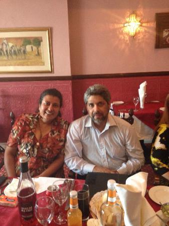 khan Tandoori: Our group at Khan's on 5 July, 2015