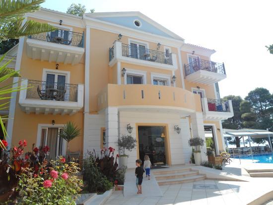 Orion Hotel: Forreste bygning