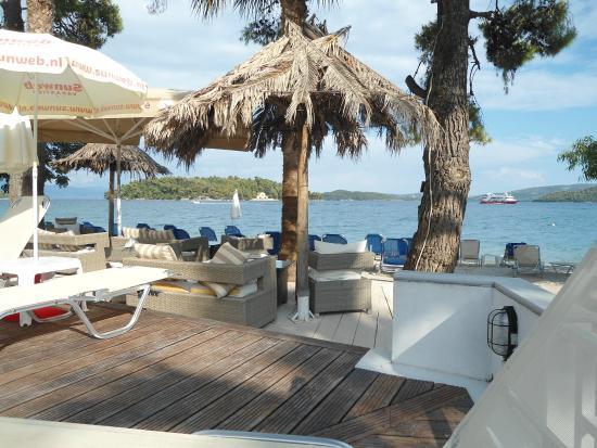 Orion Hotel: Udsigt fra terrassen