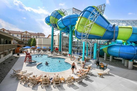 Zehnder S Splash Village Hotel Waterpark Outdoor Pool Open Seasonally Enjoy The Best