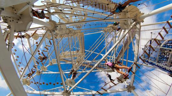Oklahoma City, OK: SandRidge Sky Trail Adventure Course in the Boathouse District