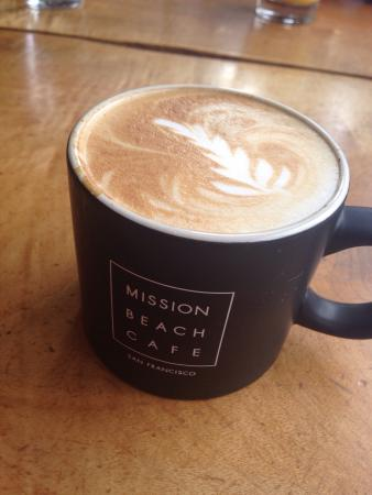 Mission Beach Cafe: Work of art!