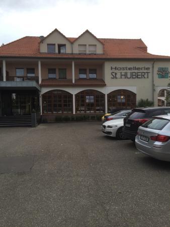 Hotel Saint Hubert Photo