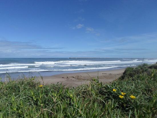Quequen, الأرجنتين: Vista Bahía de los vientos