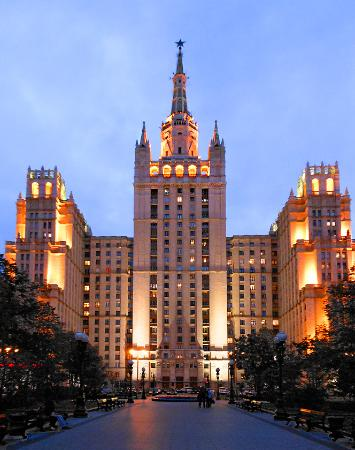 Residential Building at Kudrinskaya Square