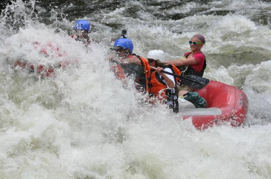 U.S. Rafting: Getting a little wet