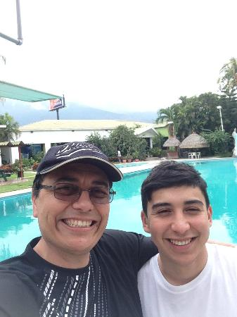 Hotel Longarone: My Son and I