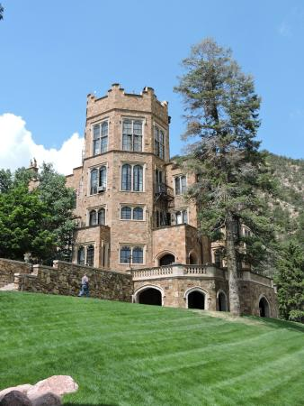 Glen Eyrie Casle Shines In The Summer Sun Picture Of