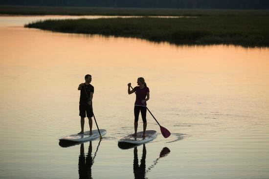 Hilton Head Health: Paddle Boarding