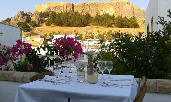 Odyssia Restaurant Lindos 1