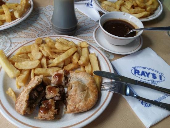 Ray's1 chippy : Pastel de Carne