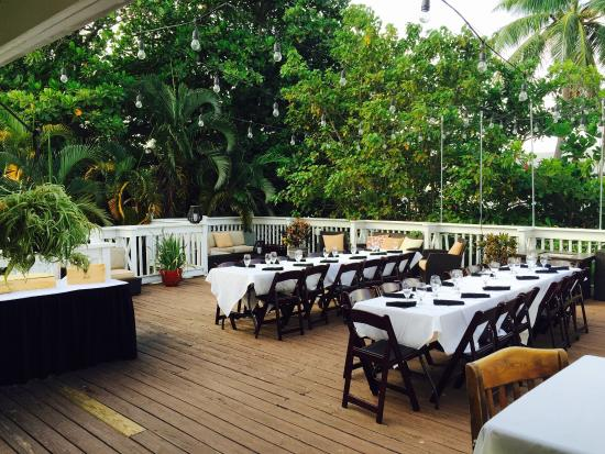 Moon Lounge Upstairs Roof Top Set For Catered Event Picture Of