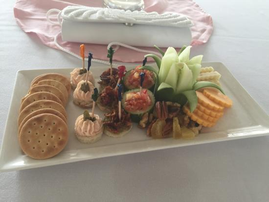 Hors Doeuvres At Wedding Reception Picture Of Sandals Royal