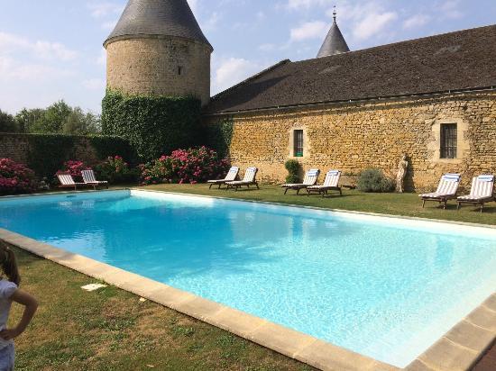 Château de Curzay : piscine
