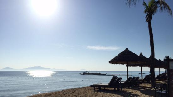 プライベートビーチ bild från hoi an beach resort hoi an tripadvisor