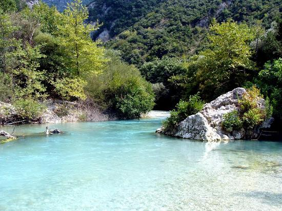 Glyki, Greece: Axeron river - Thesprotia
