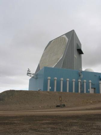 Qaanaaq, Grønland: radar