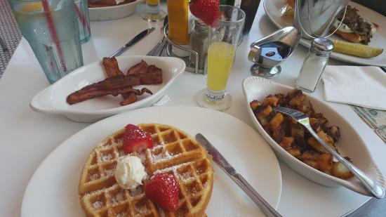 Pink Breakfast Is Served