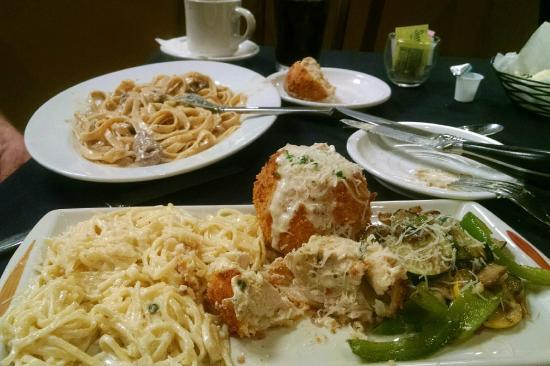 The Tuscan Table : Chicken Involtini and Mushroom Beef Fettucini