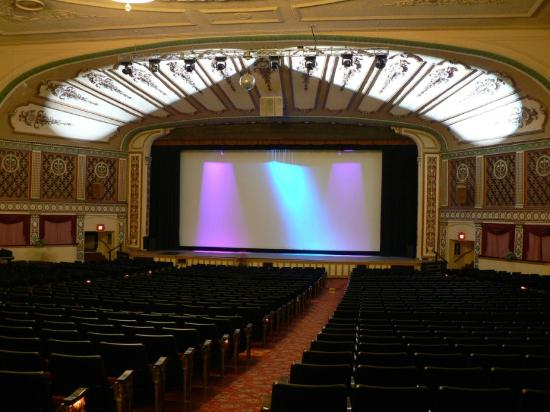 1600 seat interior of the Lorain Palace Theater