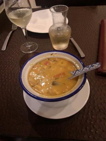 Koh Samet : La soupe aux crevettes et à la citronnelle: TOP !