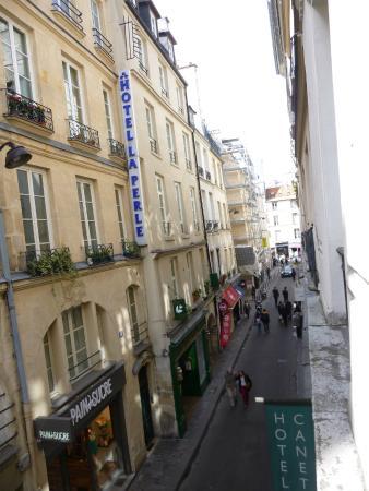 Hotel Des Canettes: Vista da janela do hotel
