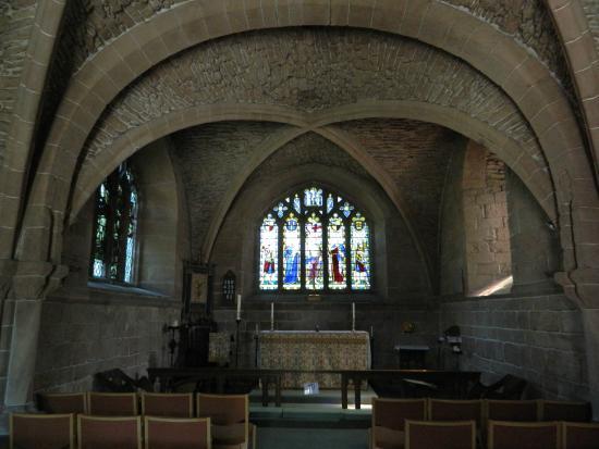 Birkenhead Priory: the church