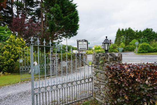 An Bruachan: The gate to get in, keep your eyes peeled for the sign
