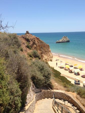 Mar a Vista Aparthotel: Пляж в 5 минутах от апартаментов