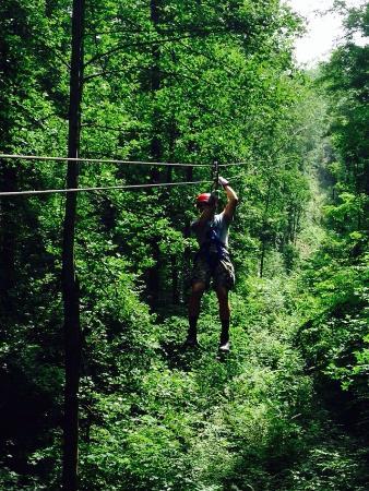 Legacy Mountain Ziplines: Fun fun fun!!