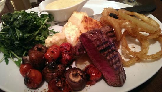 Tristans Bistro: Fillet Steak Thursday Special