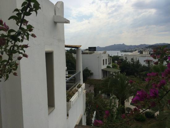 Romantik Apart: Utsikt från balkongen