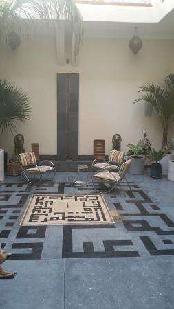 Dar Ait Sbaa: Living room