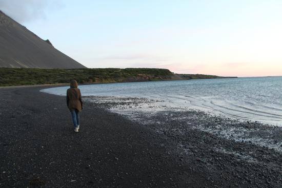 Hotel Hafnarfjall : Гора и побережье