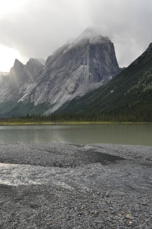 Fort Simpson, Канада: Another shot-Glacier Lake in the Nahanni National Park- Cirque of the Unclimables- on a Day Tour