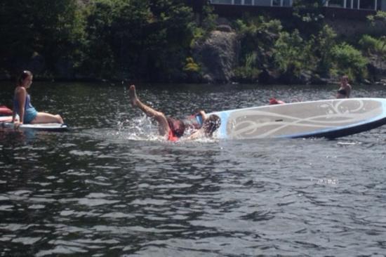 Muskoka Lakes, Canadá: A failed headstand