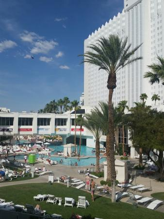 Tropicana Las Vegas A Doubletree By Hilton Hotel View Of Pool From Balcony