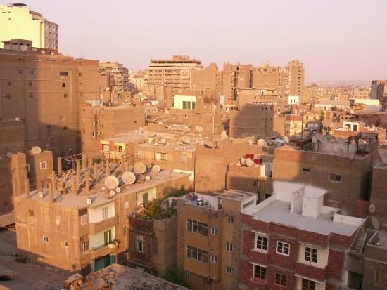 Happy City Hotel: Blick von der Dachterrasse