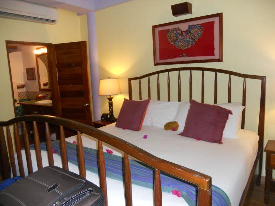 Hamanasi Adventure and Dive Resort: Beach front bedroom
