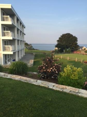 Rockport, ME: View from Pool area