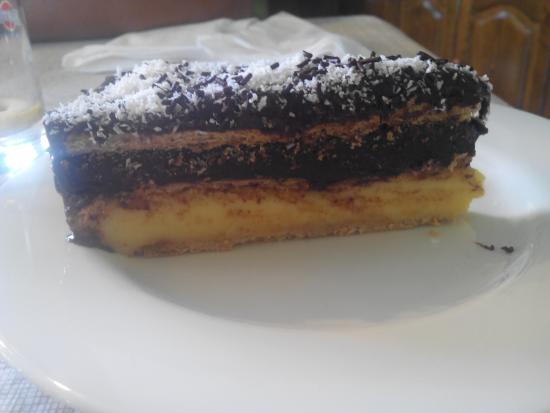 Restaurante Casa Pedro: Tarta de chocolate