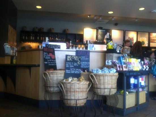 Starbucks : Snack display