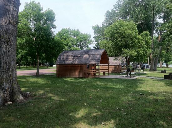 rental cabins at gavin 39 s point camping unit picture of